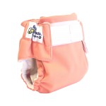 One of the easiest modern cloth nappies going round. This MCN is just as easy as a disposable, except a whole lot friendlier on your baby, your wallet & the planet. With an easy velcro waist and soft bamboo/organic cotton fleece.  Outer Fabric: PUL, Inner Fabric: Suedecloth