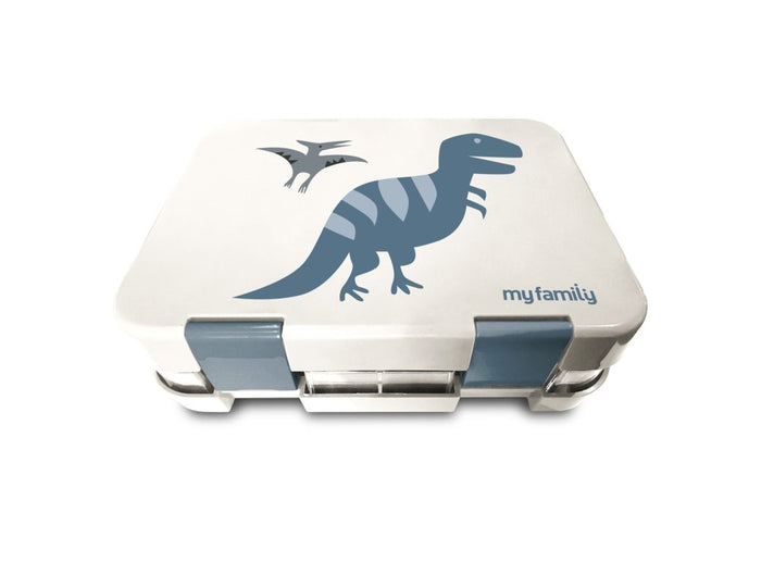 My Family Easy Clean Bento Lunchbox T Rex