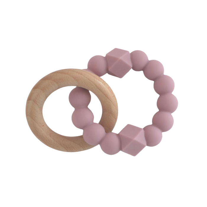 Jellystone Moon Teether Mauve