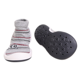 The GGomoosin first walker shoe for babies and toddlers just starting to walk. Cotton top wraps the little feet just like comfy socks. Easy to put on and take off. The shoes are also made without any toxic glues that are usually use in shoes making. Feel like walking barefoot. Minimise the weight to support the natural growth of the feet. Provide flexible and supportive sole making it easier to walk or run.