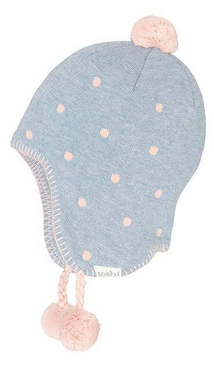 Toshi Organic Earmuff Beanie Magic Tide