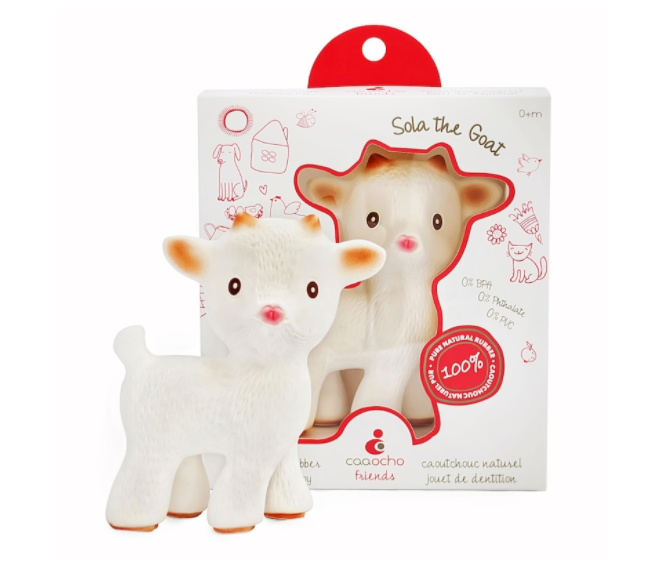 CaaOcho Sola the Goat Teether