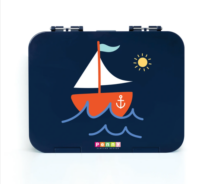 Penny Scallan Bento Box Large Anchors Away
