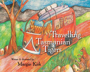 Margie Kirk's fantastic artwork and beautiful words combine to take readers on a tour of 14 Tasmanian towns where thylacines make friends with the native wildlife - from wombats in Waratah, echidnas in Eddystone, wedge-tails over Wineglass Bay to possums in Port Arthur, quolls in Queenstown and swans in Strahan.