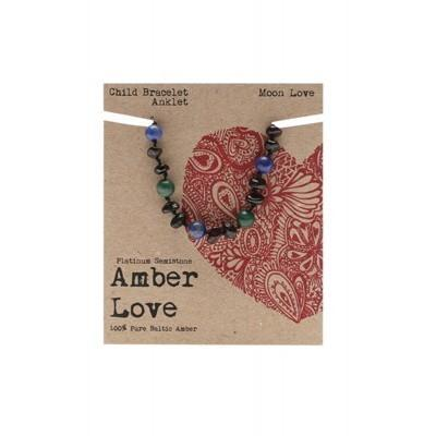 Amber Love Bracelet/Anklet Moon Love