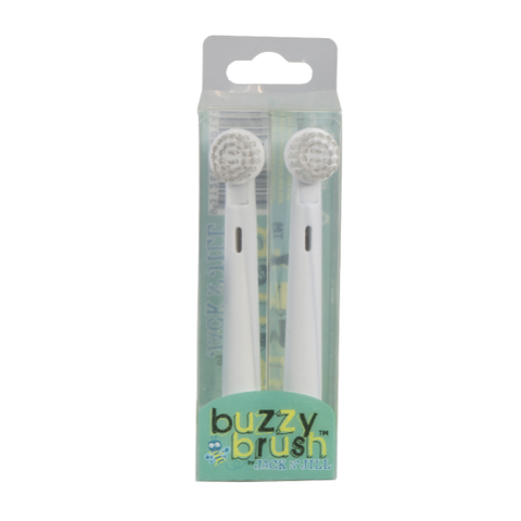 Jack N' Jill  Buzzy Brush Replacement Heads 2pk