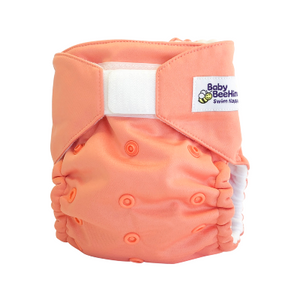 You will love this One-Size-Fits-Most Swimming nappy designed to use from 5kg to 20kg. Great for quick fuss free changes & designed to keep the contents contained where they should be.  This is a must have for any parent!