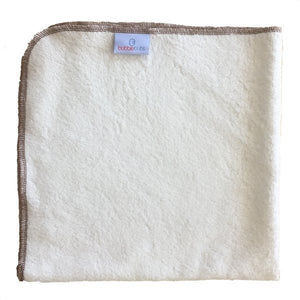 These silky soft bamboo terry flat nappies are a must have addition to any modern cloth nappy stash. Generous 60x60cm size (pre-washing size) Custom milled, 80/20 Bamboo/Cotton terry Fold for custom fit and absorbency. MCN Cover required, Snappi optional.