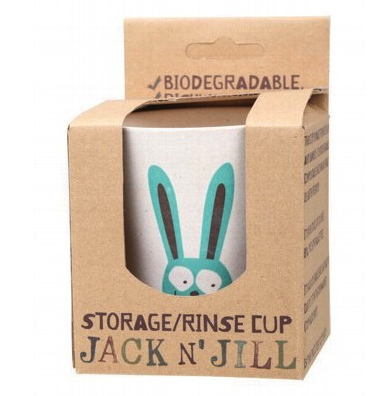 Jack N' Jill Biodegradable Storage/Rinse Cup Bunny