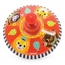 Metal tops that hum when they are spun they have sweet farm animals depicted on the top in bright engaging colours. A classic toy loved by young and old! All Janod toys are designed in France and manufactured to strict quality and safety standards, meeting both European and Australian requirements.