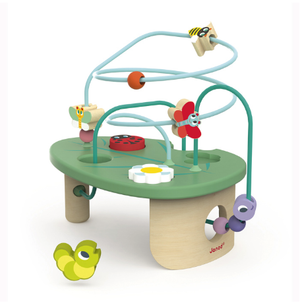 Help develop motor skills and shape recognition with the Caterpillar Looping Toy from Janod. Dimensions: 24.3cm x 15cm x 19.5cm. Age Range: 12 months+.