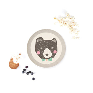 "This medium bamboo plate is right at home in the home, or outdoors as a picnic partner, camping companion, BBQ buddy or party pal. Product Sizing: 1 x 21cm plate (8.2""). Perfect dinnerware for kids and toddlers."