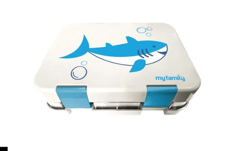 My Family Easy Clean Bento Lunchbox Shark