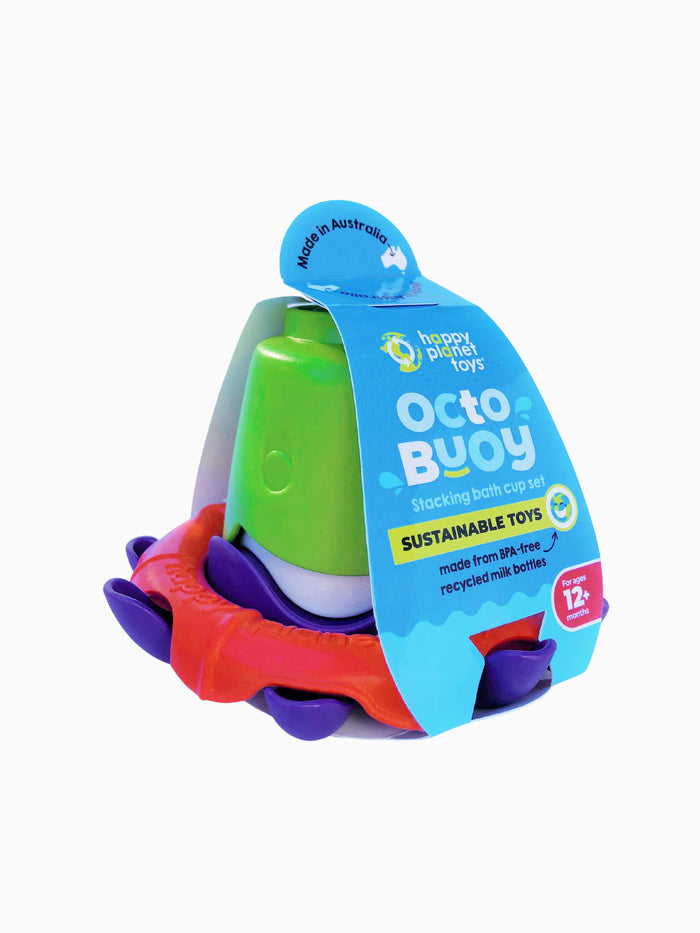 Happy Planet Toys Octo-Buoy Stacking Cups