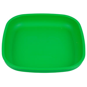 "Made from recycled FDA approved polypropylene* Deep walls help keep food on your plate BPA, PVC, phthalates and surface coatings free Made in the USA Approx. dimensions: 7.375"" by 7.375"" by 1.25"""