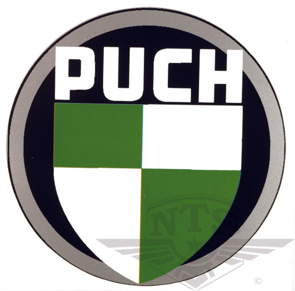 Puch logo sticker 55mm