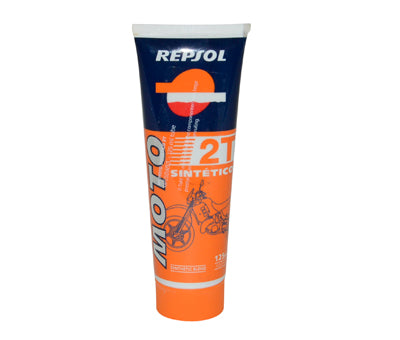 smeermiddel olie 2t half synth tube 125ML repsol