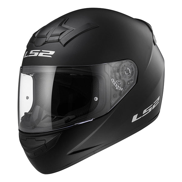 helm integraal rookie single mono FF352 XL 61/62 mat zwart LS2