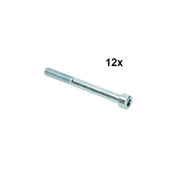 bout inbus m8x80mm 12pcs
