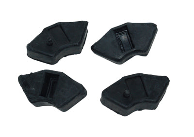 Yamaha achterkettingwiel rubber set fs1 4pcs