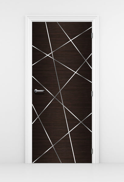 Dark Wood Wallpaper - Birds nest Design