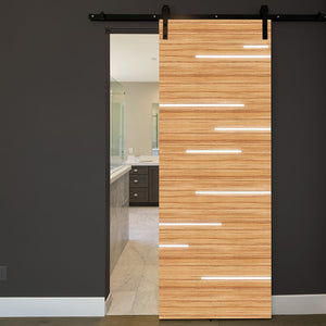 CocoBolo Door Wallpaper with light streaks - Sliding Door wallpaper