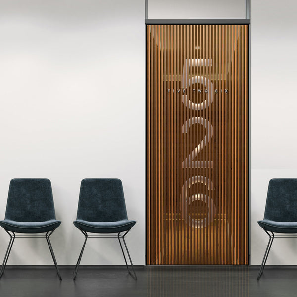 3D Business Door Number Signage Wallpaper - 3D Wall Mural - Door Sticker