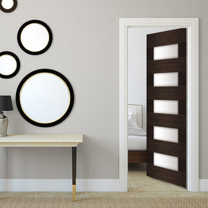 Mid Century Modern door Wallpaper