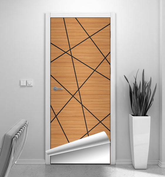 CocoBolo Cherry Birds Nest Door Mural - Door Sticker by DoorTouch