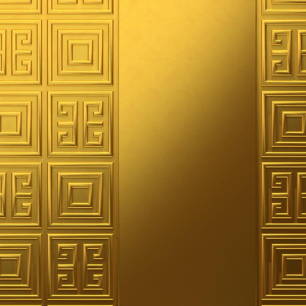 Luxury Gold Door - Geometric Gold Pattern | DoorTouch