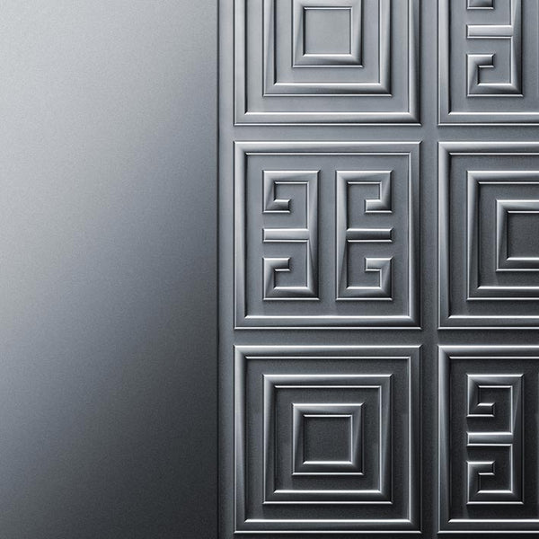 Luxurious Silver Door - Silver Metal Door | DoorTouch