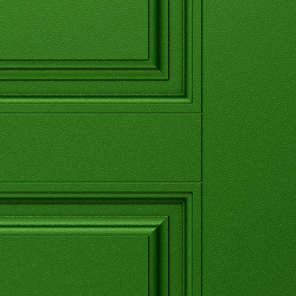 Green Door Wallpaper close up detail