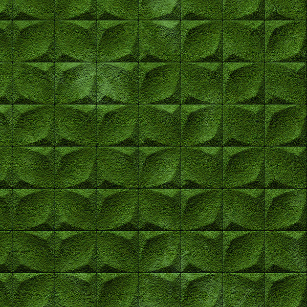 Moss texture door wallpaper