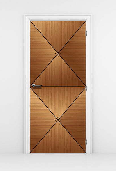 CocoBolo Wood Door wallpaper - Wood Texture door mural | DoorTouch