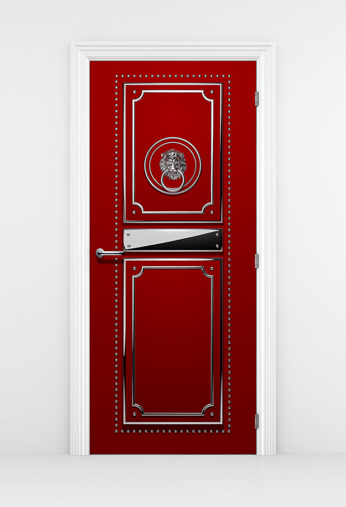 Red Fashion Studio Door - DoorTouch