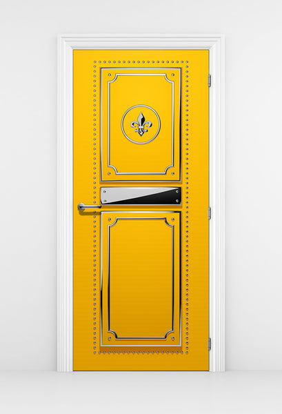 Yellow Fashion Studio Door - Door Poster | DoorTouch