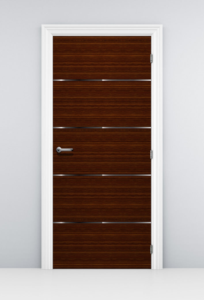 Brown Corporate Office Door Mural - Door Wallpaper | Doortouch