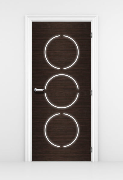 Contemporary door Mural - DoorTouch