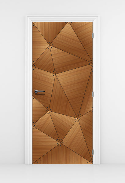 CocoBolo Abstract line design -  Door Mural - Door Wallpaper | DoorTouch