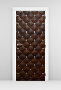 Mahogany Door Wallpaper Mural - Cigar lounge Door - Private door