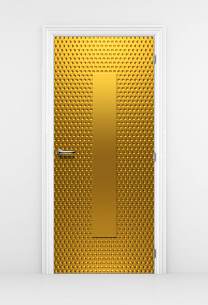 Gold Pattern Closet Door wallpaper - DoorTouch