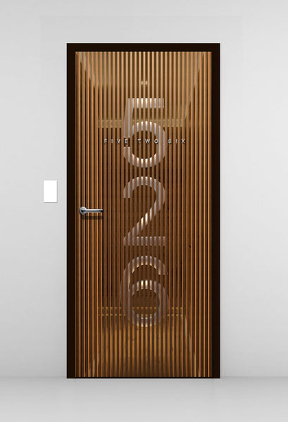 3D Door Wallpaper -Door Mural - Door Sticker by Doortouch