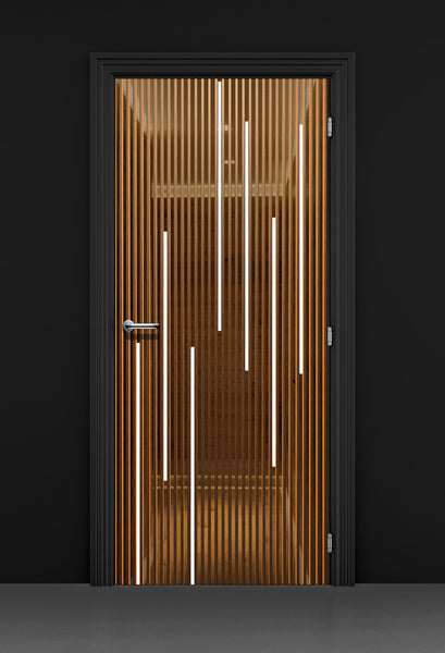 3D Business Door Wallpaper - Spa Door Wallpaper