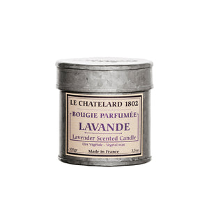 Le Chatelard 1802 Candle - Lavender from Provence