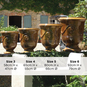 Large French Pots