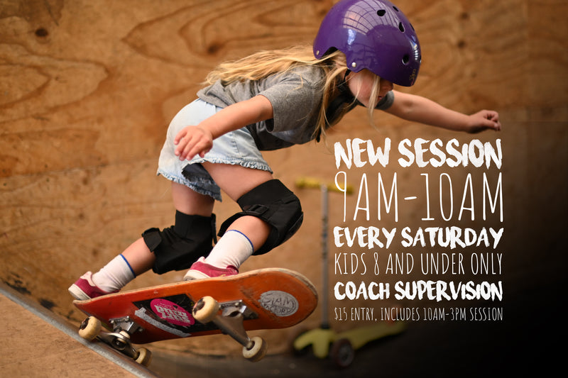 NEW SESSION: KIDS AGED 8 AND UNDER ONLY