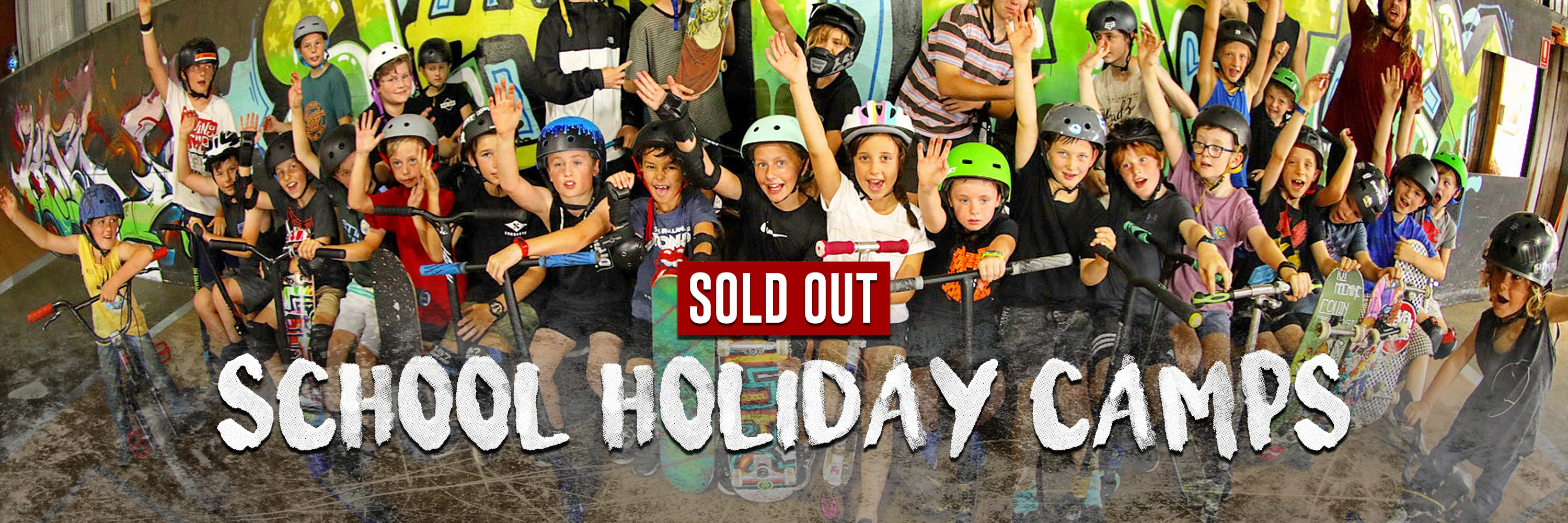 SCHOOL HOLIDAY CAMPS NOW SOLD OUT