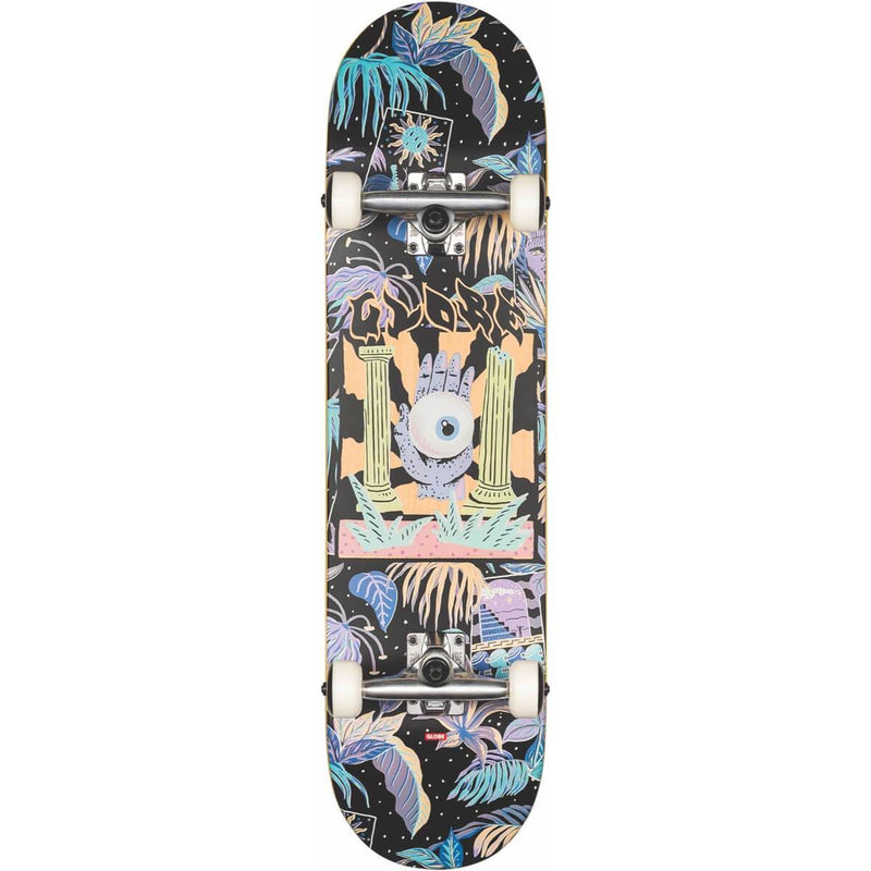 "Globe G1 Stay Tuned Complete Skateboard (8.0"")"