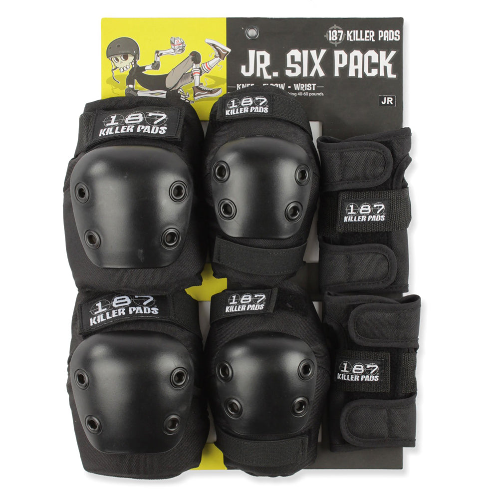 187 Killer Junior Six Pack (Black)