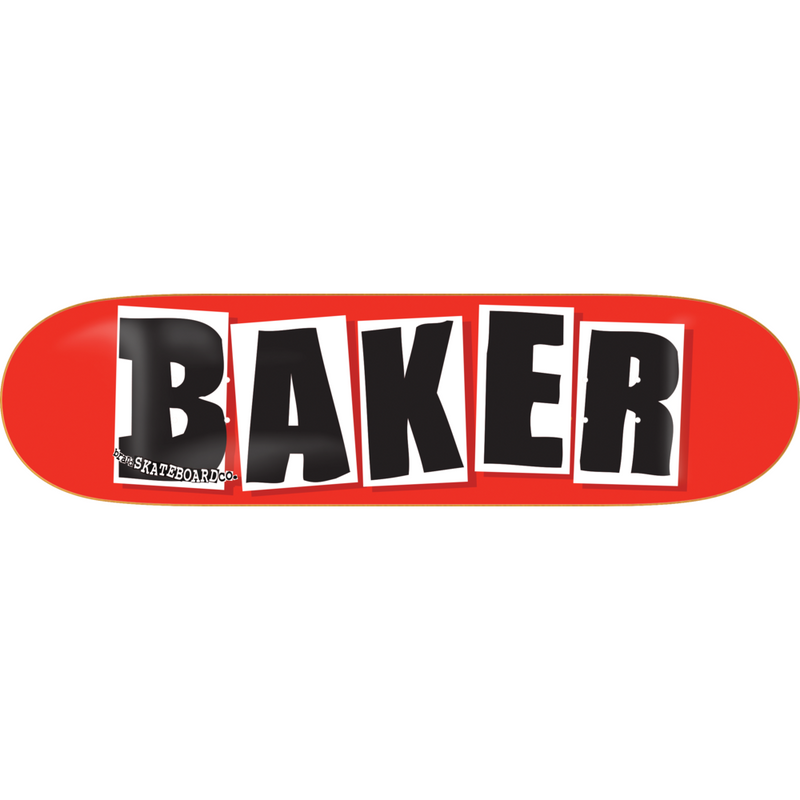 Baker OG Black Logo Deck (Various Sizes)